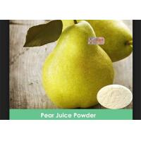 Wholesale 100% Water Suluble Pear Juice Powder No Artificial Colors / Preservatives from china suppliers
