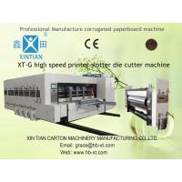 Buy cheap 150pcs/min Automatic Corrugated Box Making Machine / Machinery With Automatic Feeder from wholesalers