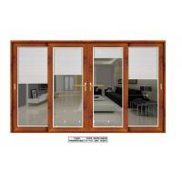 Wholesale Aluminum wooden color sliding door from china suppliers