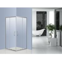 Wholesale Bathroom 6 mm Glass Corner Bath Shower Enclosure 800 x 800 0.094 Volume from china suppliers