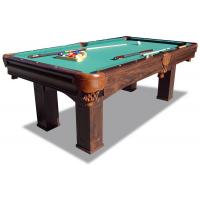 Wholesale 7.5 Feet Pool Game Table Durable Taclon Cloth Surface With Real Leather Pocket from china suppliers