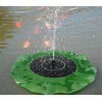Wholesale Solar Water Panel Power Fountain Pump Kit Pool Garden Pond Watering Submersible Floating Lily Smart Solar Fountain Pump from china suppliers