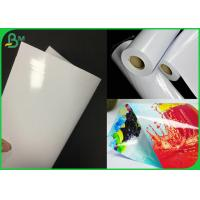 Wholesale Double Side Coated White RC Inkjet Photo Paper For Printing Poster from china suppliers