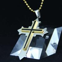 Wholesale Fashion Top Trendy Stainless Steel Cross Necklace Pendant LPC388 from china suppliers