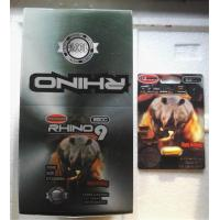 Wholesale Rhino9 3500 Herbal Sex Pills For Sexual Intercourse Poor Sperm / Penis Enlargement from china suppliers