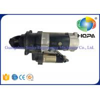 Quality CUMMINS 6BT5.9 24V Excavator Starter Motor 10T With 4.8KW Power , Auto Starter Motor for sale
