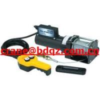 Buy cheap Powerful electric winch 4x4 winch TDS-9.5C from wholesalers