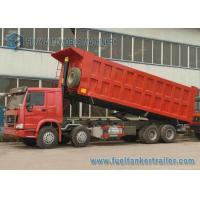 Wholesale HOWO 4 Axles Garbage Trucks , waste collection Truck 8X4 Drive from china suppliers