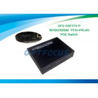 Wholesale 5 Port Power Over Ethernet POE / Gigabit Poe Network Switch DF SM Mulyimode from china suppliers