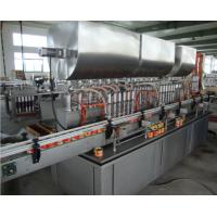 Wholesale Automatic SS Meat Paste Tin Can Filling Machine / Bottle Filling Line Custom from china suppliers