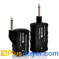 Wholesale Wireless Transmitter + Receiver for Digital Guitar and Bass from china suppliers