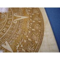 Wholesale Anti-slip PVC laser engraved plastic logo mats from china suppliers