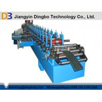 Wholesale 350mm H Profile Steel C / Z Purlin Roll Forming Machine 8-10m/Min from china suppliers