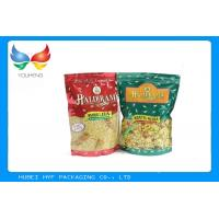 Wholesale Easy Tear Ziplock Stand Up Bags , Heat Seal Resealable Food Pouches With SGS Certificate from china suppliers