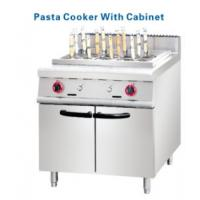 Wholesale Stainless steel Gas Deep Fryer with cabinets 2 pasta Basket from china suppliers