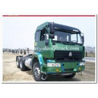 Wholesale sinotruk Golden prine or hohan 6x4 tractor truck / tractor head for pulling Hydraulic platform traile from china suppliers
