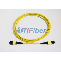 Wholesale UPC / APC MTP Singlemode Fiber Optic Patch Cords with LSZH Jacket from china suppliers