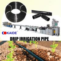 Quality Inlaid Cylindrical type drip irrigation pipe extrusion machinery for sale