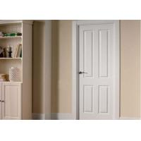 Wholesale Commercial OAK Solid Wood Composite Doors , Single Swing Shower Door from china suppliers