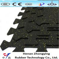 Buy cheap SBR rubber granules 15mm heavy duty rubber flooring tiles flooring mat from wholesalers