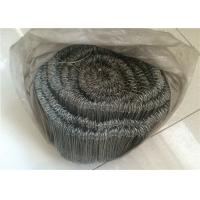 Wholesale Bar Tie Galvanised Iron Wire With Double Loop Tie , 16 Gauge 1000pcs Per Roll from china suppliers
