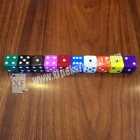 Wholesale Gamble Device Casino Magic Dice / Telecontrol Dice With Earpiece To Tell Result from china suppliers
