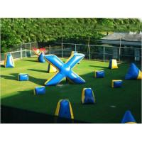 Wholesale Commercial Grade PVC Tarpaulin Inflatable Paintball Bunker from china suppliers