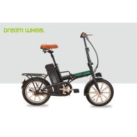 Wholesale 250W Folding Electric Bike / Bicycle , Electric Beach Bike 36v 10ah Battery from china suppliers