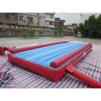 Quality 0.55 mm PVC Tarpaulin Inflatable Air Track Gymnastics Square for sale