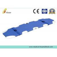 Wholesale Stainless Steel Waterproof 2 Fold Stretcher , Emergency Funeral Products from china suppliers