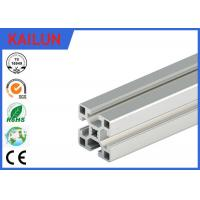 Wholesale Square Aluminum Industrial Profile , 4040 T Track Aluminum Extrusions Linear Rail from china suppliers