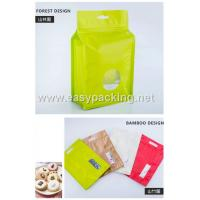 Wholesale Qual side sealed flat bottom pouches with zipper for food packaging from china suppliers