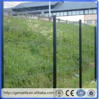 ISO/CE certificated galvanized and PVC coated Welded Wire Mesh Fence(Guangzhou Factory)