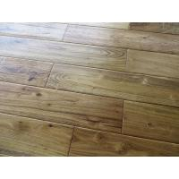 Wholesale natural color solid asian teak hardwood floors, distressed texture from china suppliers