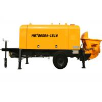 Wholesale Electric Remote Controller Hydraulic Concrete Pump For Concrete / Cement Pumping Works from china suppliers