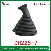 Quality Komatsu Excavator Parts Joystick Boot Dustproof Black Rubber Cover for sale