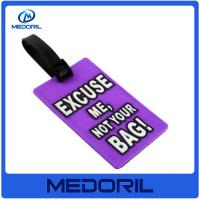 Wholesale Custom logo cheap plastic luggage tags wholesale blank luggage tag with high quality from china suppliers