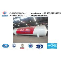 Wholesale factory sale 120,000L 50ton lpg gas storage propane tank, hot sale bullet type bulk surface lpg gas storage tank from china suppliers