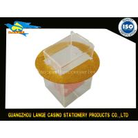 Wholesale Mecao Casino Poker Table Discard Holder Box For 8 Decks playing cards from china suppliers