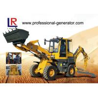 Buy cheap YUCHAI Engine Heavy Construction Machinery , 2000kg load Medium Backhoe Loader with 1m³ bucket from wholesalers