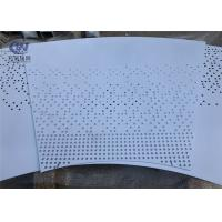 Wholesale Lighting Decorative Fence Aluminium Perforated Metal Sheet 3003 Hole Shape Customized from china suppliers