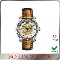 Wholesale Diamond Bezel Index 316 Stainless Steel Automatic Watches For Women Any Colors from china suppliers