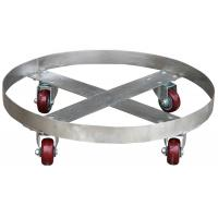 Wholesale Stainless Steel Oil Drum Dolly Parallel Drum Carrier 400Kg Loading from china suppliers
