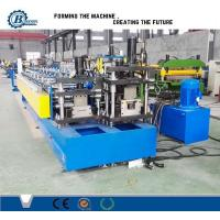 Wholesale Drywall Stud And Track Roll Forming Machine / Roll Forming Equipment For Light Steel Track from china suppliers