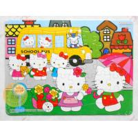 Wholesale Hello Kitty Personalized Kids Puzzles With CMYK Offset Printing from china suppliers