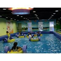 Wholesale Children Hand Power Paddle PVC Inflatable Boat , SEPPA Inflatable Water Toys from china suppliers
