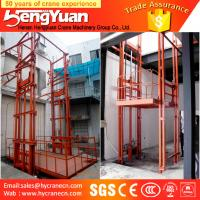 Wholesale most popular guide rail chain motorcycle lift from china suppliers