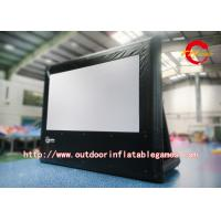 Wholesale Big Home Advertising Inflatable Movie Screen / Inflatable Outdoor Projector Screen from china suppliers