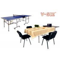 Wholesale Multi Purpose Weatherproof Ping Pong Table Outdoor / Indoor With Lock Guard System from china suppliers