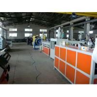 Wholesale Double Screw PVC Plastic Pipe Extrusion Line / PVC Fiber Reinforced Hose Machine from china suppliers